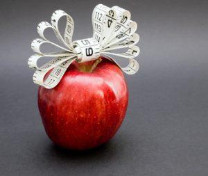 äpfel, gewichtsreduktion