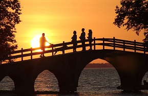 Wählst du erfolg oder Misserfolg Brücke