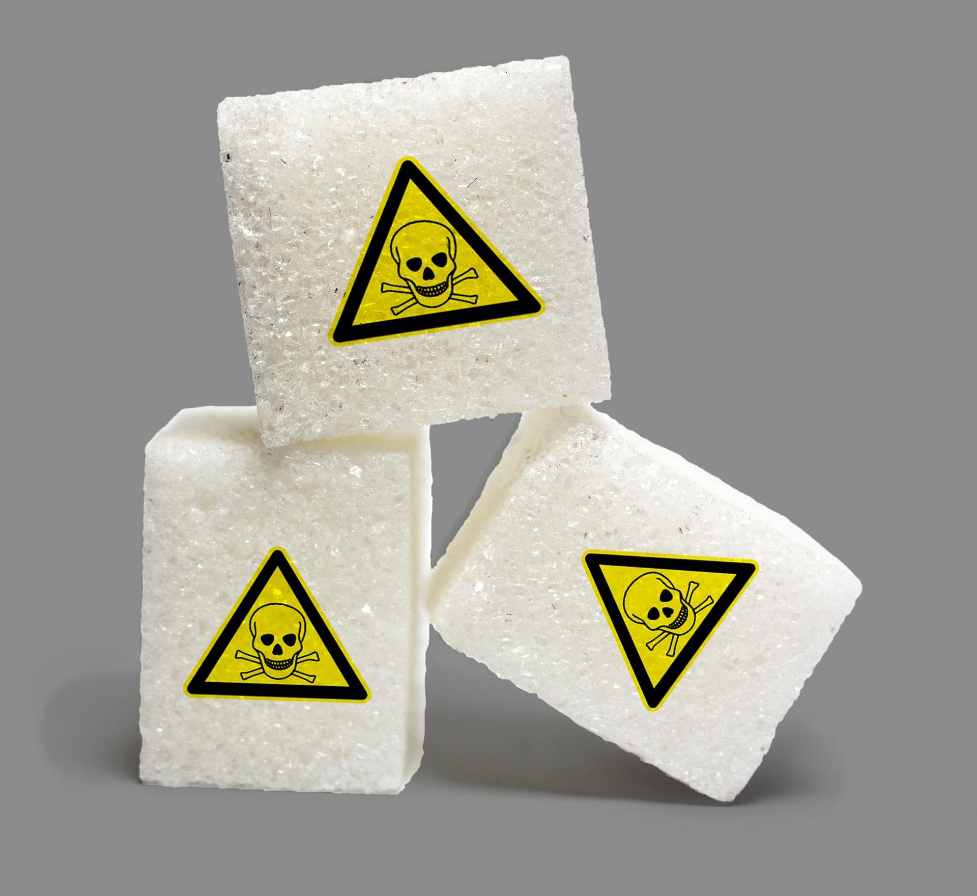 Zucker als Gift